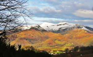 Randonnée d'hiver au cœur du Pays basque